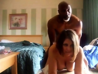 Gorgeous busty milf and BBC try out the camera