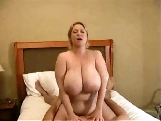 Samantha is MILF with Massive Tits Fucked