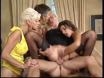 Group sex includes anal and fisting