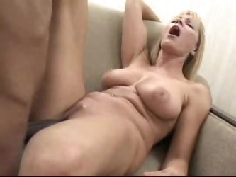 Long black cock fucking a naughty mature pussy