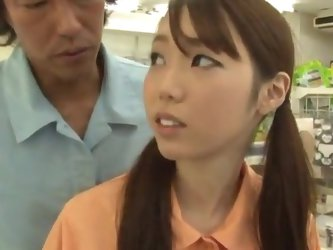 Yui Tsubaki has shaged By the Stranger inside the Supermarket