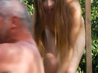 Erotic foreplay and fucking nearby the youthful Awesome blonde