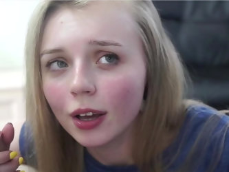 Suck me with your Beautiful Teen Face